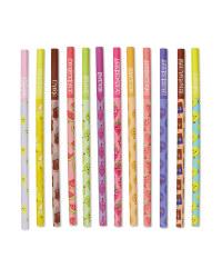 Script Scented Pencils 12 Pack