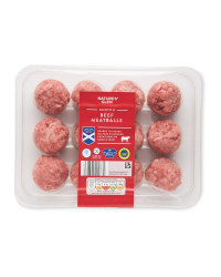Scotch Beef Meatballs