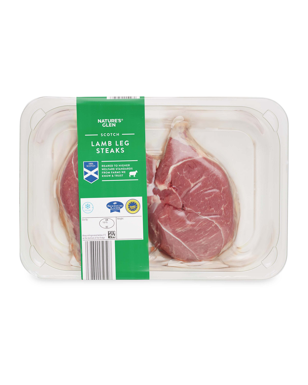 Scotch Lamb Leg Steaks
