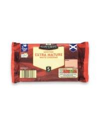 Scottish Extra Mature White Cheddar