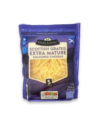 Scottish Grated Extra Mature Cheddar