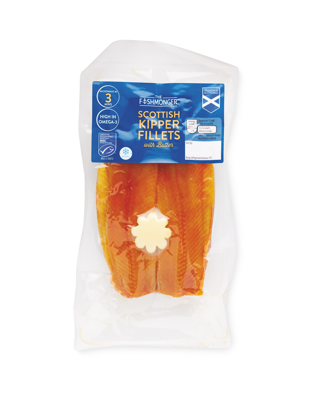 Scottish Kipper Fillets With Butter