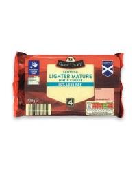 Scottish Lighter Mature White Cheese