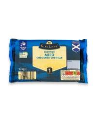 Scottish Mild Coloured Cheddar