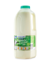 Organic Semi Skimmed Milk - 1L