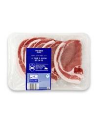Scottish Pork Loin Steaks