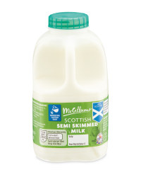 Scottish Semi Skimmed Milk - 1 Pint
