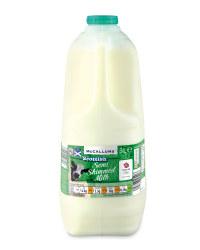 Scottish Semi Skimmed Milk 3 Litres
