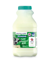 Scottish Semi-Skimmed Milk 500ml
