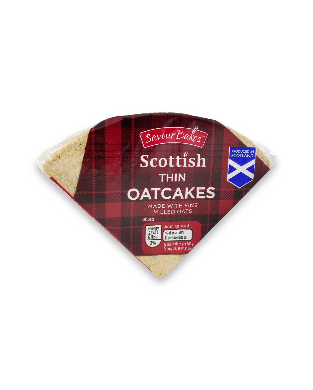 Scottish Thin Oatcakes
