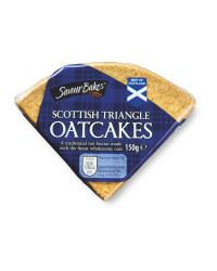 Scottish Triangle Oatcakes
