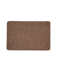 Scrape and Soak Mat - Brown