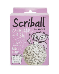 Mitre Scriball - Purple