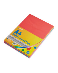 Script A4 Bright Coloured Packs