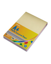 Script A4 Pastel Coloured Packs