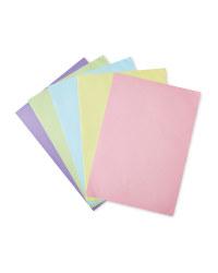 Script A4 Pastel Paper Pack