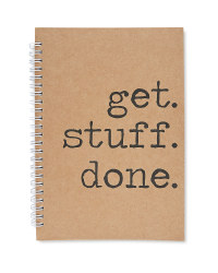Script A5 Get Stuff Done Notebook