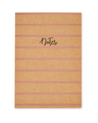 Script A5 Notebook Copper Stripes