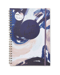Script Constellation A4 Notebook