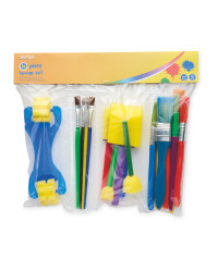 Script Sponge & Brush 20-Piece Set