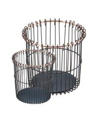 Script Wire Black/Copper Pots