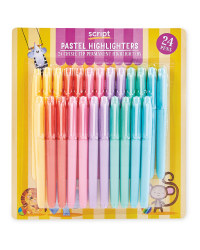 XL Pastel Highlighters 24 Pack