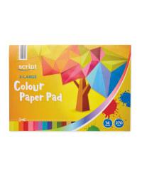 Script XLarge Colour Paper Pad
