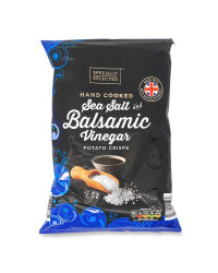 Sea Salt & Balsamic Vinegar Crisps