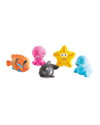 Sea Bath Toys 5 Pack