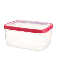 Crofton 2l Seal Tight Container - Pink