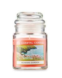 Seaside Garden Candle Jar