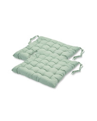 Seat Pads 2-Pack - Green