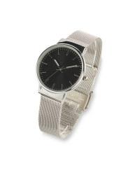 Sempre Black Metal Strap Watch