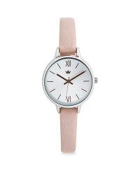 Sempre Ladies Round Watch - Silver