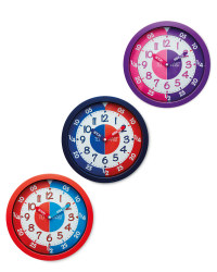 Sempre Time Teaching Wall Clock