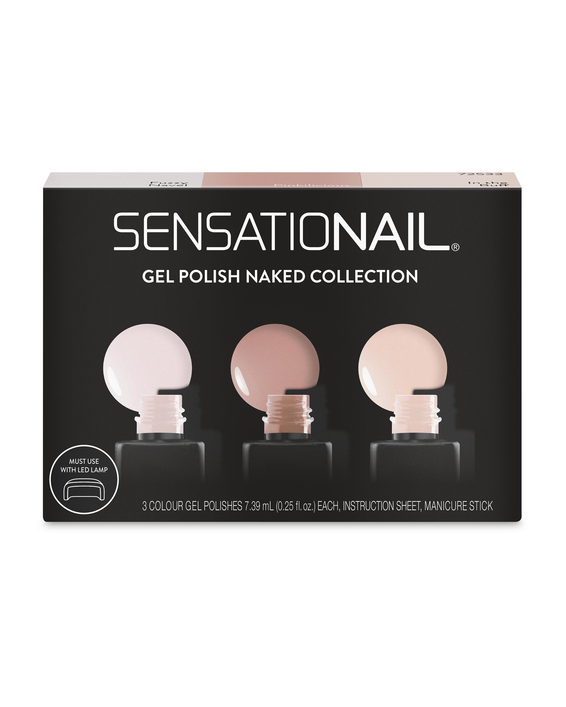 SensatioNail Naked Nail Gel 3 Pack