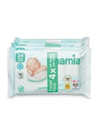 Sensitive Travel Baby Wipes 24 Pack