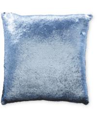 Kirkton House Sequin Cushion - Navy/Black
