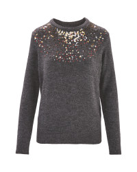 Avenue Premium Jumper Sequin