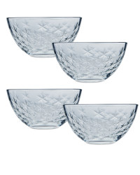 Set of 4 Glass Dessert Dishes