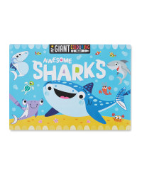 Shark Giant Colouring Poster Pad
