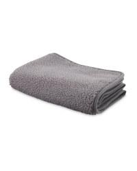 Sherpa Fleece Grey Pet Blanket