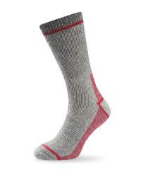 Short Wool Fishing Socks - Grey