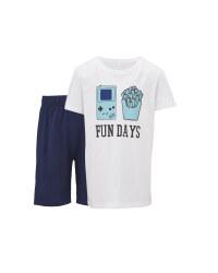 Children's Fun Days Shorty Pyjamas
