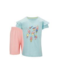Children's Ice Cream Shorty Pyjamas
