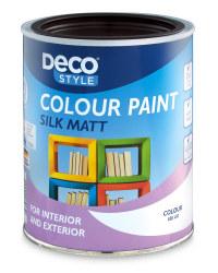 Silk Matt Paint 1L - Chocolate Brown