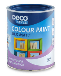 Silk Matt Paint 1L - Gentian Blue