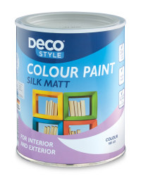 Silk Matt Paint 1L - Light Grey