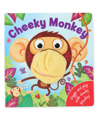 Cheeky Monkey Hand Puppet Book