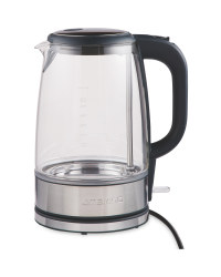 Silver Glass Kettle